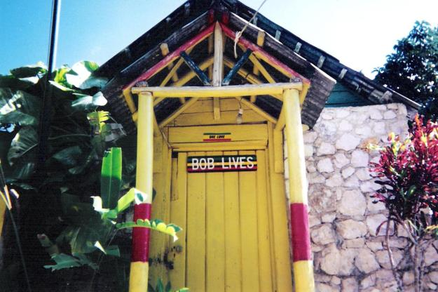 Bob Marley House, Nine Miles. Photo Credit: Dean MacNeil, Copyright © 1993-2012