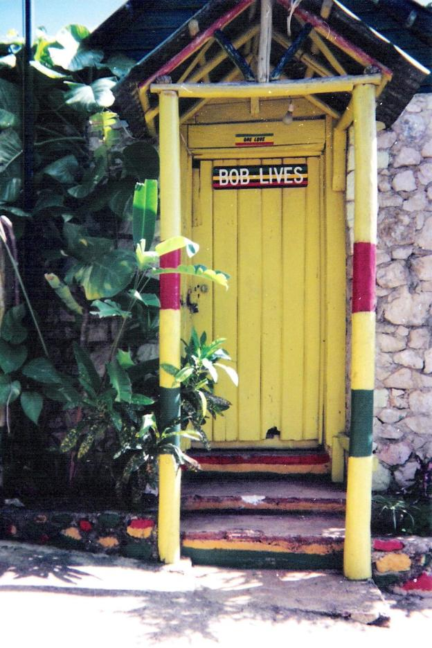 Bob Marley House, Nine Miles. Photo Credit: Dean MacNeil, Copyright © 1993-2013.