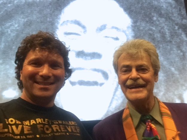 Celebrating the Life of Bob Marley with reggae historian Roger Steffens at USC, Jan. 29, 2015.